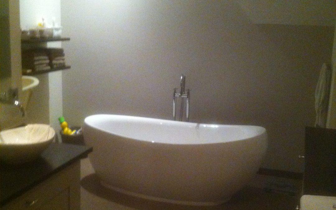 Sfeervolle, moderne badkamer in Dussen