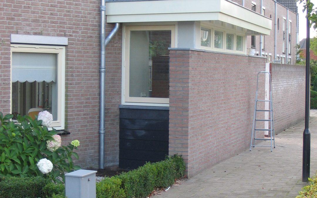 Aanbouw woning in Geertruidenberg