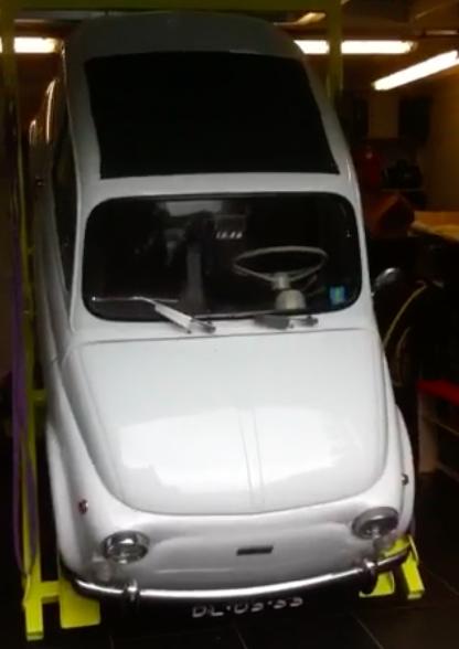 Fiat 500 kraanbaan