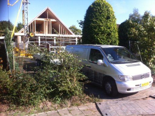 Extra verdieping op bungalow in Waalwijk