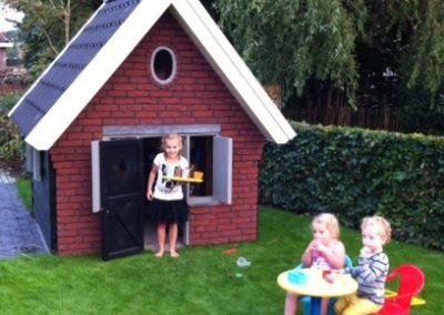 Mini speelhuisje in Dussen