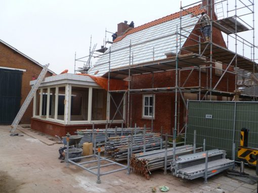 Renovatie buitenzijde woonhuis in Herpt